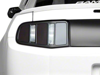 MMD Matte Black Tail Light Trim (10-12 All)