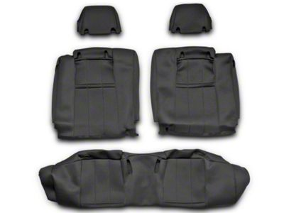 NeoSupreme Rear Seat Cover - Black (10-14 All)