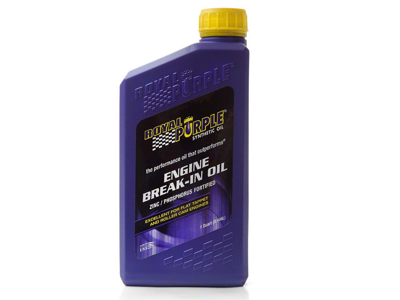 Royal Purple Engine Break in. Oil