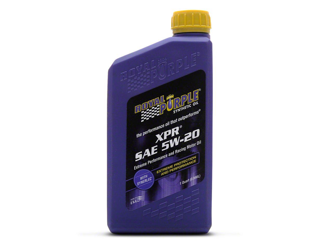 Royal Purple XPR Race 5w20 Motor Oil