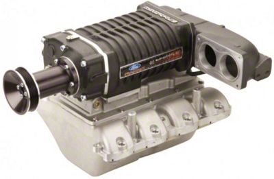 Whipple W140AX 2.3L Intercooled Supercharger Kit - Polished (05-10 GT w/ Automatic Transmission)