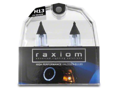 Raxiom Elite Headlight Bulbs - H13 (05-12 All)