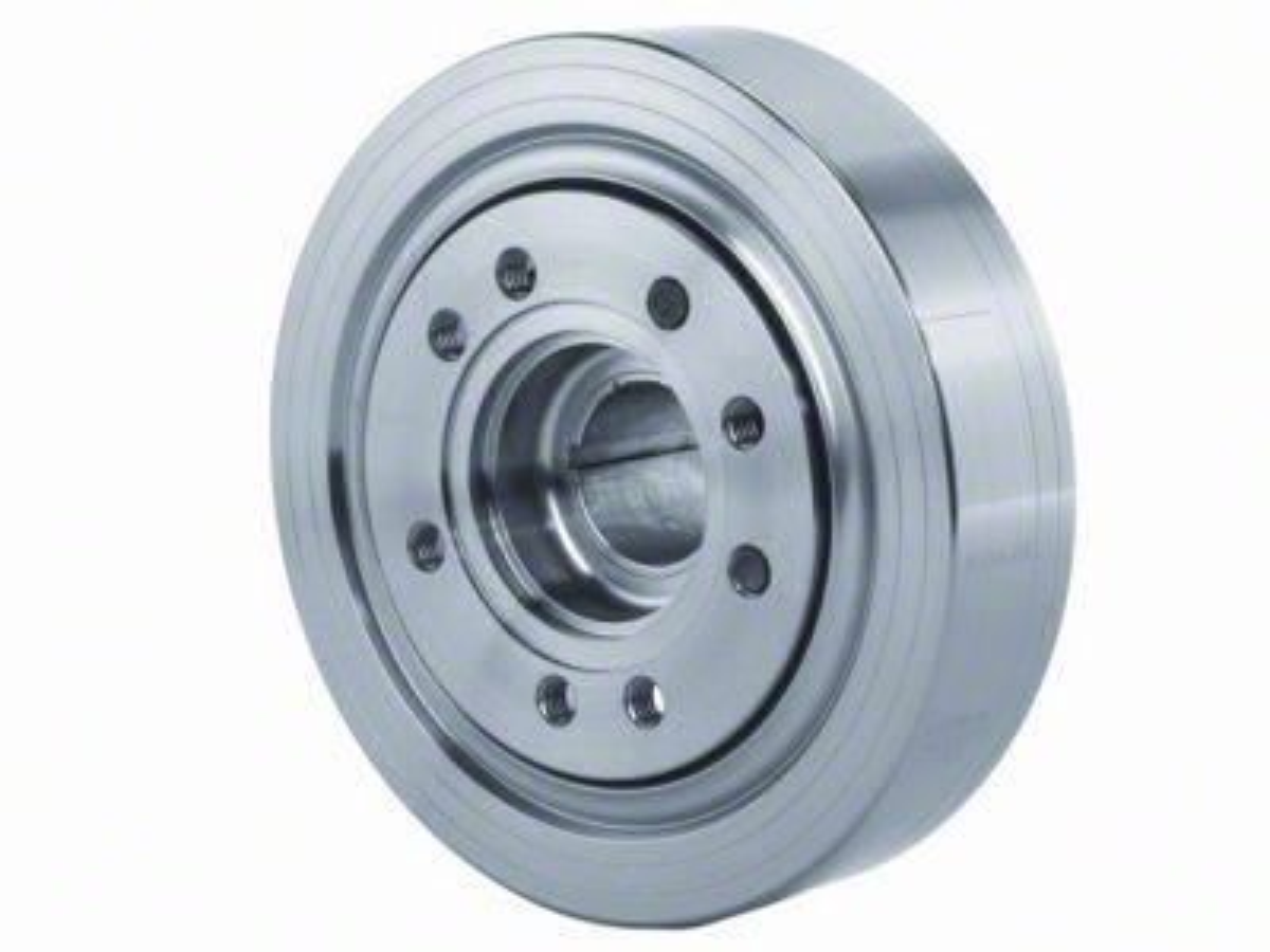 Ford Performance Steel Harmonic Balancer - 50 oz (81-93 5.0L)