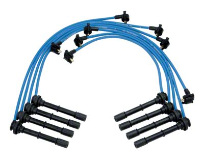 Ford Performance High Performance 9mm Spark Plug Wires - Blue (96-98 Cobra)