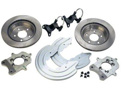 Ford Performance Rear Caliper Bracket Kit with Rotors (94-04 GT, V6)