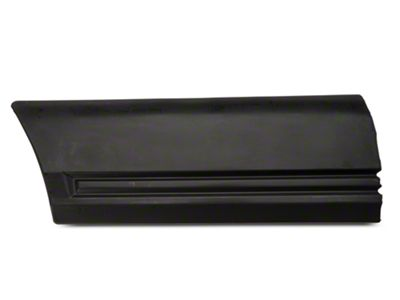OPR Left Side Fender Body Molding - Rear (85-86 All)
