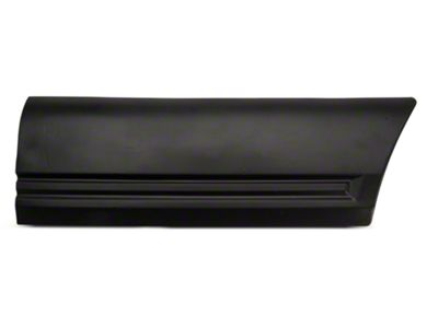 OPR Left Side Quarter Body Molding - Front (85-86 LX)
