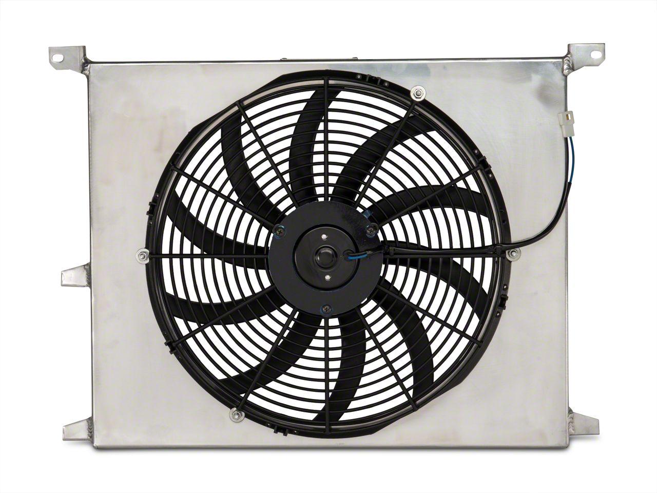 SR Performance Universal 16 in. High Performance Slim Electric Radiator Fan w/ Shroud (79-19 All)