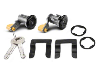 OPR Door Lock Set - Black (90-93 All)