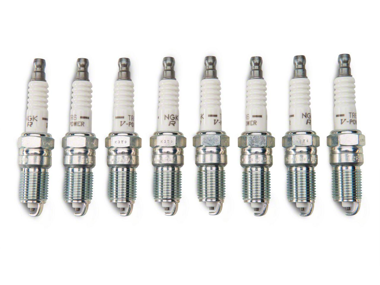 NGK V-Power Spark Plugs - Heat Range 6 (03-04 Cobra; 07-14 GT500)