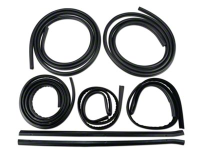 OPR Complete Weatherstrip Kit (87-93 Coupe, Hatchback)