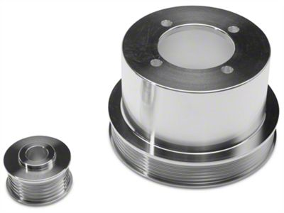 SR Performance Underdrive Pulleys - Polished (94-98 V6)