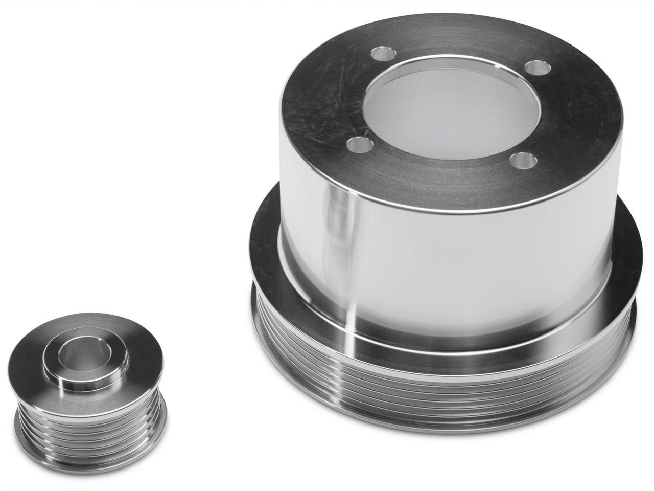 SR Performance Underdrive Pulleys - Polished (94-98 V6)