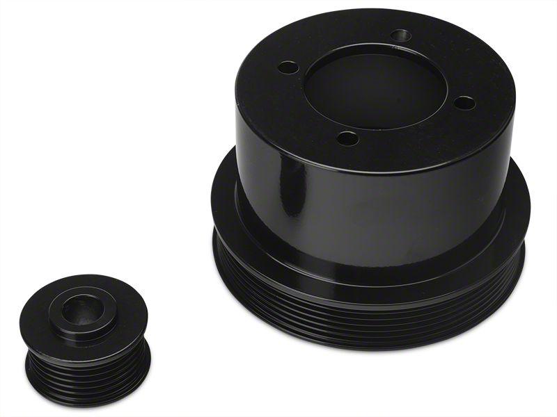 SR Performance Underdrive Pulleys - Black (94-98 V6)