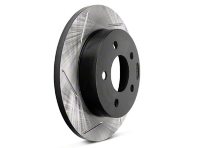 StopTech Slotted Rotors - Rear Pair (94-04 GT, V6)