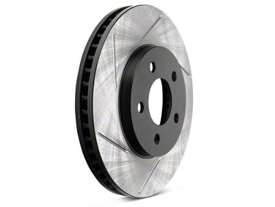 StopTech Slotted Rotors - Front Pair (05-10 V6)