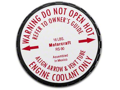 Ford Motorcraft Radiator Cap (79-95 5.0L)