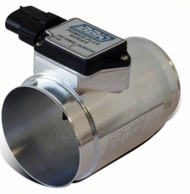 BBK Billet Mass Air Meter for Cold Air Intake and 30lb Injectors (86-93 5.0L)