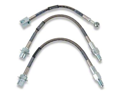 Russell Stainless Steel Braided Brake Line Kit - Front & Rear (79-86 All)