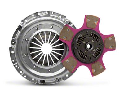 Exedy Mach 700 Stage 4 Clutch w/ Puck-Style Flywheel and Hydraulic Throwout Bearing (05-10 GT)