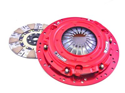 McLeod RXT Twin Disc 1000HP Clutch - 10 Spline (Late 01-10 GT; 99-04 Cobra; 03-04 Mach 1)