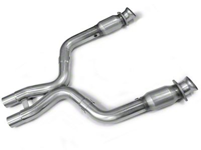 Kooks Catted X-Pipe (07-10 GT500 w/ Long Tube Headers)