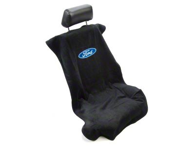 Alterum Seat Armour Protective Cover - Black - Ford Oval (79-14 All)