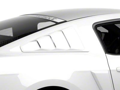 MMD Quarter Window Louvers - Unpainted (05-14 Coupe)