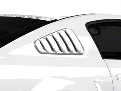 SpeedForm Classic Quarter Window Louvers - Unpainted (05-09 Coupe)