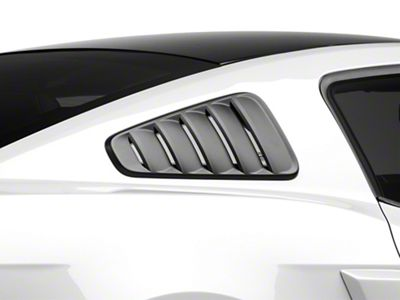 SpeedForm Classic Quarter Window Louvers - Matte Black (10-14 Coupe)