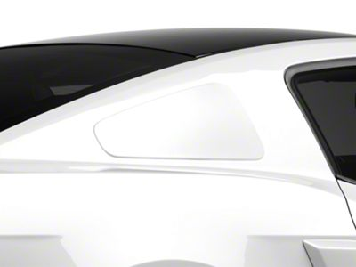 MMD GT350 Style Window Covers - Unpainted (10-14 Coupe)
