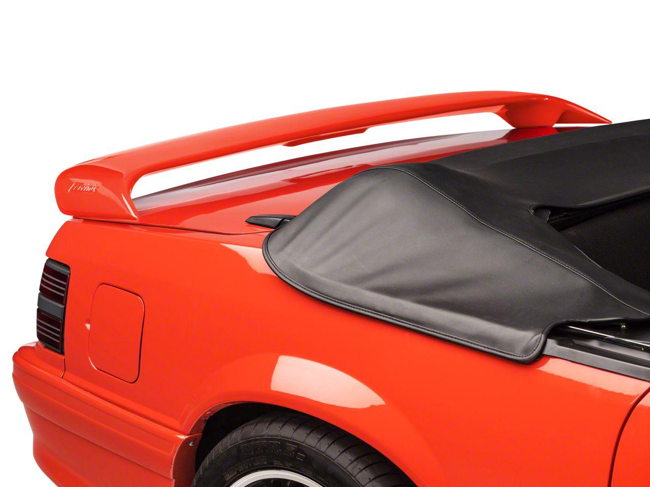 Cervini's Sport Rear Spoiler - Unpainted (79-93 Coupe, Convertible)