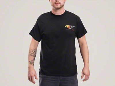 Flaming Pony T-Shirt - Mens