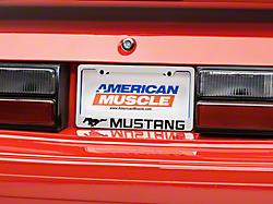 License Plates & License Plate Frames<br />('79-'93 Mustang)