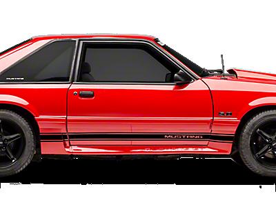 Mustang Rocker Panel & Side Stripes 1979-1993