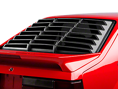 Louvers - Rear Window<br />('79-'93 Mustang)