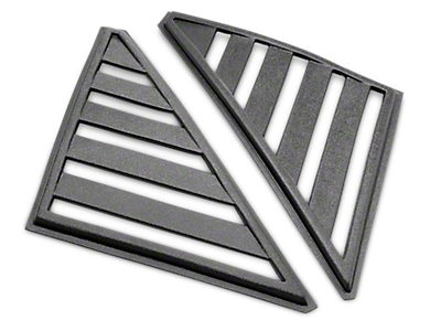 Louvers - Quarter Window<br />('79-'93 Mustang)