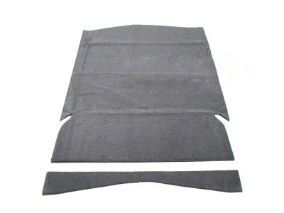SpeedForm Rear Seat Delete Kit - Gray (79-93 Hatchback)