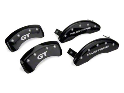 MGP Black Caliper Covers w/ GT Logo - Front & Rear (94-98 GT, V6)
