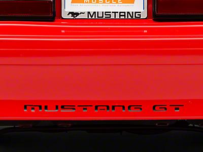 Mustang Bumper Inserts 1979-1993