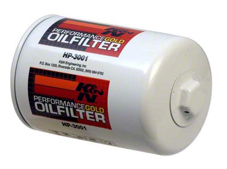 K&N Performance Gold Oil Filter (79-95 5.0L; 87-93 4-Cylinder)