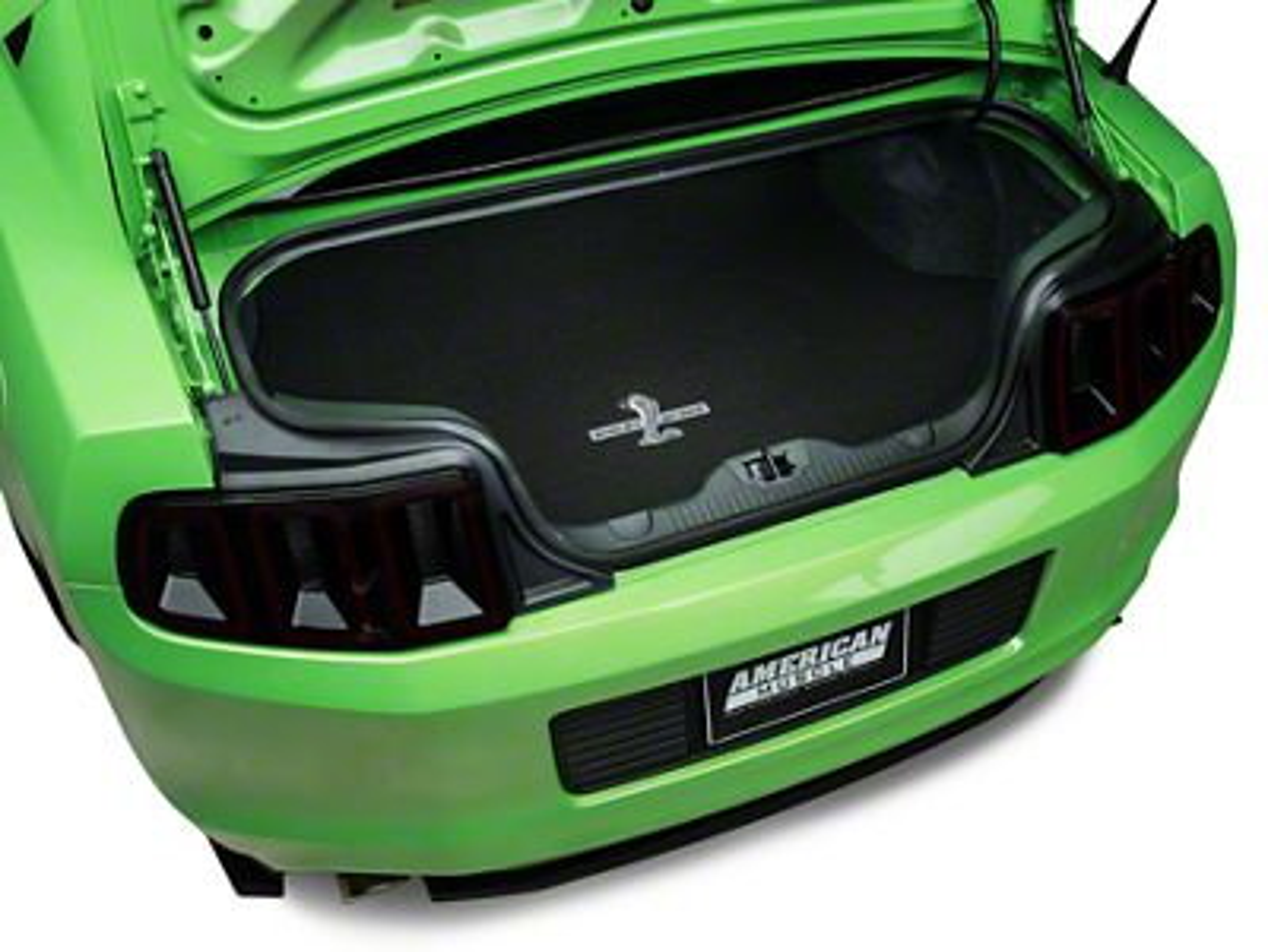 Lloyd Trunk Mat w/ Shelby GT500 Logo - Black (10-14 All)