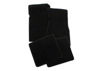 Lloyd Front & Rear Floor Mats - Black (79-93 All)