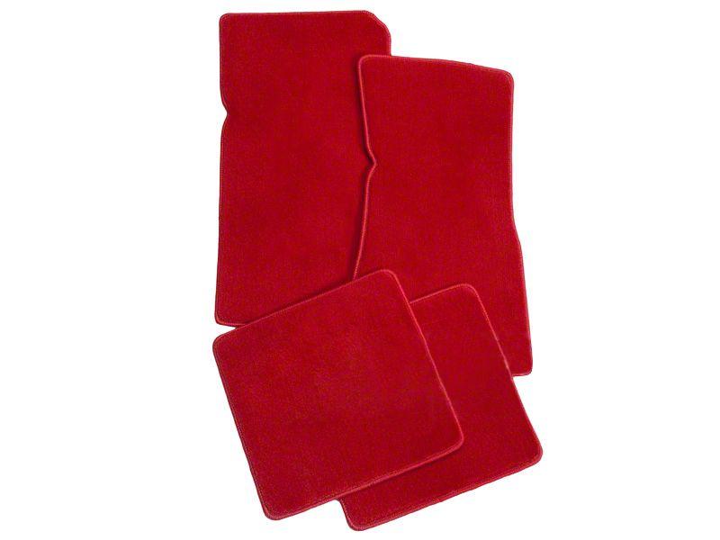 Lloyd Front & Rear Floor Mats - Red (79-93 All)