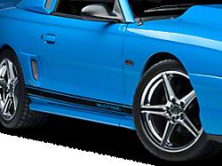 Rocker Panel & Side Stripes<br />('94-'98 Mustang)