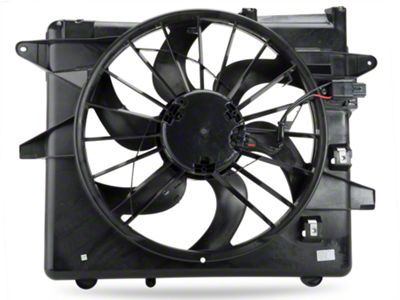 OPR Radiator Fan and Shroud Assembly (10-12 GT, V6)