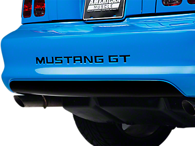 Decklid & Rear Bumper Decals<br />('94-'98 Mustang)