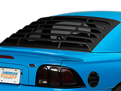Louvers - Rear Window<br />('94-'98 Mustang)