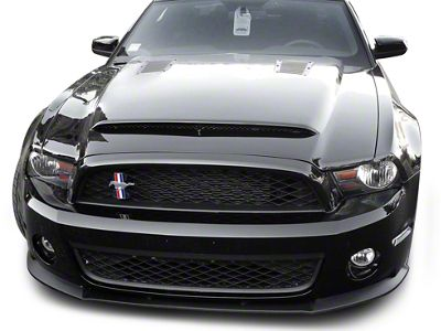 GT500 Front End Conversion w/ Black Mamba Hood - Unpainted (10-12 GT, V6)