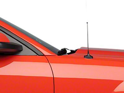 SpeedForm Fixed Black Antenna - 8 in. (05-09 All)